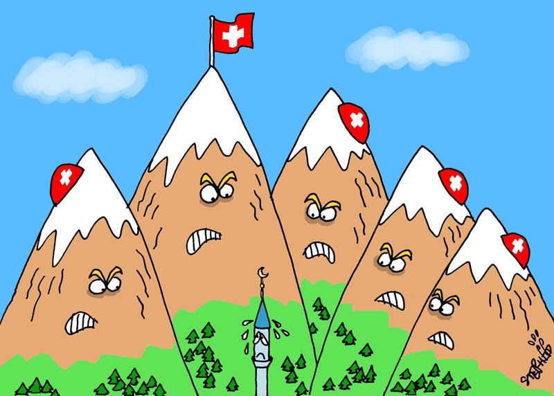 Querelle de minarets en Suisse