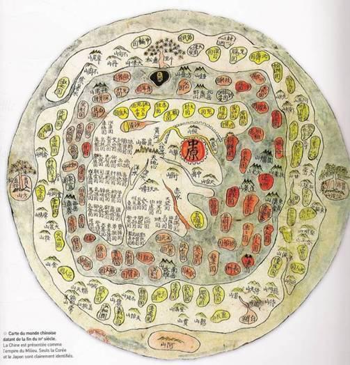 Carte du monde chinoise - XVe siècle