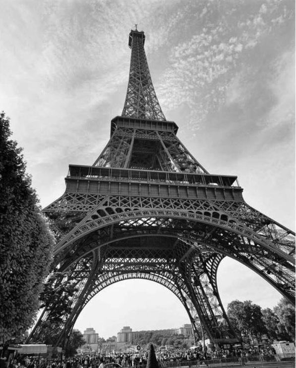 La tour Eiffel, par Henri Silberman