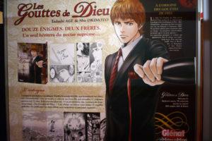 Présentation du manga au salon du livre de Paris