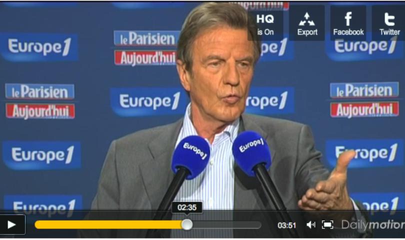 Kouchner à Europe 1 le 2 mai 2010