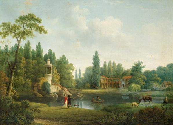 Les jardins reflets des cultures 1 jardin fran ais for Jardin anglais du petit trianon