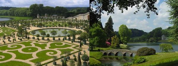 Les jardins reflets des cultures 2 la d couverte for Jardin anglais en france