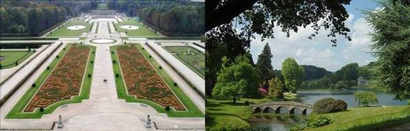 Les jardins reflets des cultures 1 jardin fran ais for Jardin anglais en france