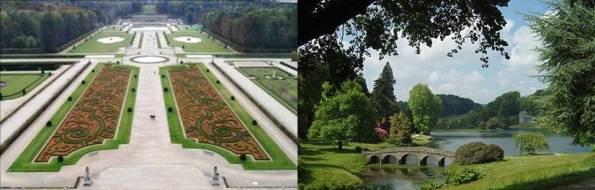 Jardin l anglaise creer un petit jardin jardin anglais ou for Jardin anglais histoire