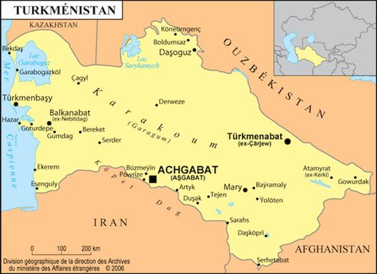 L'expatriation au Turkménistan – témoignage d'un Français