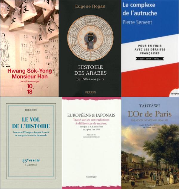 Voyage dans l'histoire et les cultures en six lectures