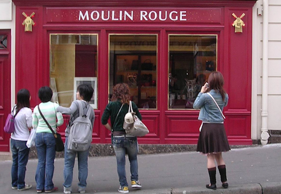 Paris : l'imaginaire japonais et la réalité