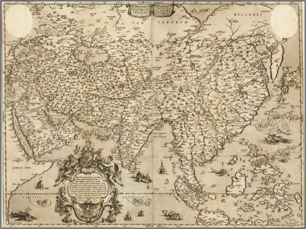 Carte Fausto Rughesi 1597